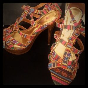 Just Fab Boho Stilletos